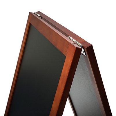 Krijtstoepbord MAHONIE GP bxh 55x85 cm
