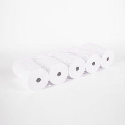 Witte kassarollen houtvrij 114x70x12 mm