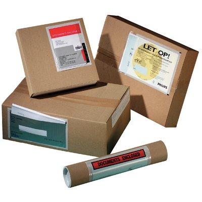 Paklijstenvelop Quantore zelfklevend blanco 165x121mm 1000st