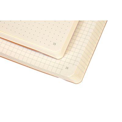 Bullet Journal Rhodia A5 60vel dots chocolade bruin