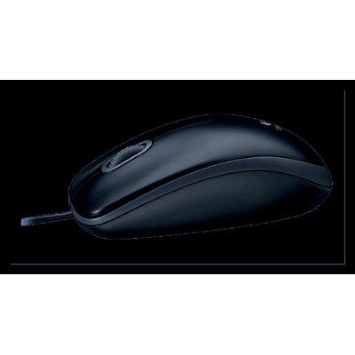 Muis Logitech M100 optical zwart