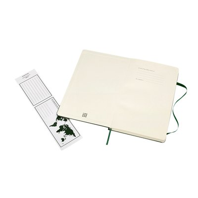 Notitieboek Moleskine L 130x210mm lijn myrtle green