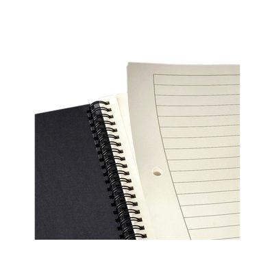 Notitieboek Sigel Conceptum A5 lijn spiraal zwart