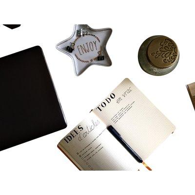 Bullet Journal Rhodia A5 60vel dots saffierblauw