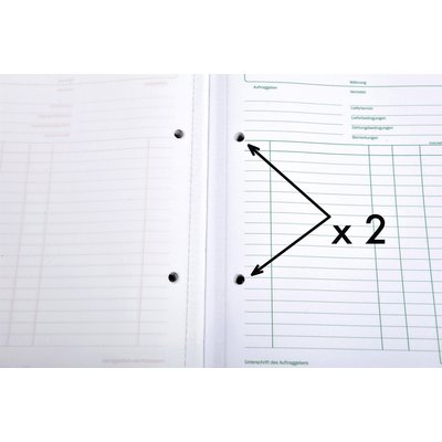 Kasboek Manifold facturen dupli 50vel