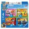 Puzzel Ravensburger Paw Patrol 4x puzzels 12+16+20+24 st foto